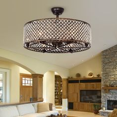 Bungalow Rose 19 Gurrola 3 Blade Ceiling Fan with Remote, Light Kit Included Bungalow Rose, Fan Light, Chandelier Design, Ceiling Lights, Chandelier Lighting, Ceiling, Ceiling Fan With Light, Warehouse Of Tiffany, Living Room Lighting