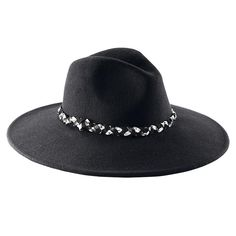 """Avon's mark. Brimming with Style Hat will keep you looking chic and staying warm. The 100% wool hat is perfect when the temperature drops but the style doesn't.25"""" circumference fits most."""