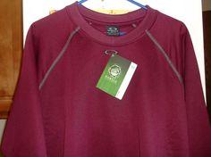 Oakley Winter SweatShirt Long Sleeve Field Gear Cranberry Size XL New With Tags  #Oakly #SweatshirtCrew