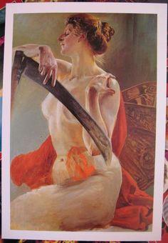 """Jacek Malczewski - ,,Thanatos"""", 1909"""