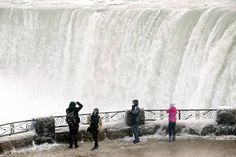 Spectacular photographs show Niagara Falls frozen in time by polar vortex - Times Of India