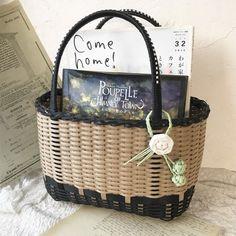 Basket Bag, Bag Making, Wicker, Crafts, Bags, Creema, Baskets, Craft Bags, Handbags