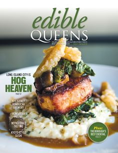 On the cover of Edible Queens