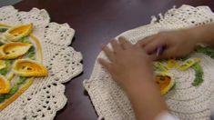 Mulher.com - 27/05/2016 - Toalha de mesa em crochê - Cristina Luriko PT1
