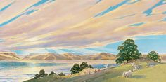 """Click to read the story behind Joni Eareckson Tada's painting, """"Sermon on the Mount."""""""