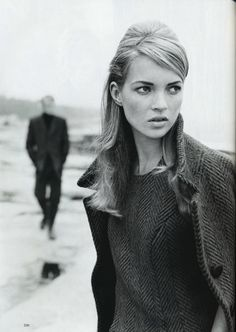 Super classic black & white. Stylings on point. Classy high fashion would def help broaden your portfolio as well.