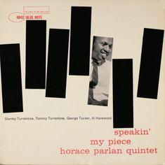 BLUE NOTE BLP 4043  Speakin' My Piece/Horace Parlan