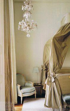 Australian Nikki Parker's Paris apartment in the Place des Vosges, decorated by Jacques Grange