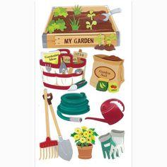 Jolee's Boutique Gardening Stickers
