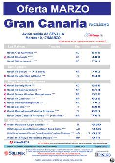 Gran Canaria -Compra Anticipada- salidas 10 y 17 Marzo desde Sevilla ultimo minuto - http://zocotours.com/gran-canaria-compra-anticipada-salidas-10-y-17-marzo-desde-sevilla-ultimo-minuto/