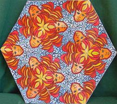 Tessellations - a great website of a teacher's art students and their work, as well as lesson plans for high school.