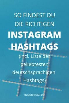 Alles was du zum Thema Instagram Hashtags wissen musst (ja, wirklich) + eine…