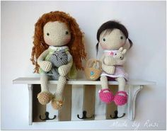 Crochet dolls by Rusi