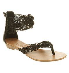 gorgeous macrame sandal