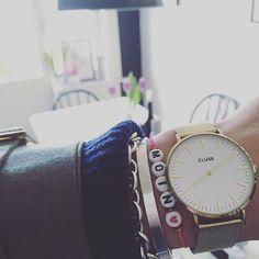 Heutige Uhrenliebe ️  #accessories #accessory #armcandy #bracelet #cluse #clusewatches #details #fashion #Hamburg #hh #igershamburg #instadaily #instafashion #instamood #jewellery #jewelry #letterbracelet #moin #ootd #uhr #uhrenliebe #watch #watches #watchesofinstagram #watchoftheday