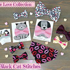Bandanas, Cat Bow Tie, Fluffy Cat, Dog Bows, Christmas Animals, Cat Collars, Dog Bandana, Pet Clothes, Dog Accessories
