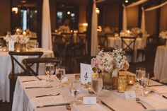Vintage Tablescapes with X-Back Farm Chairs | Vintage Southern Wedding at Magnolia Plantation Carriage House by Charleston Wedding Planner ELM Events