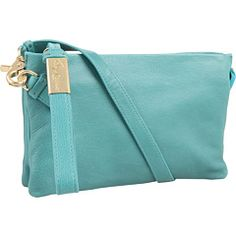 Foley and Corinna Turquoise Cache Crossbody - Want!