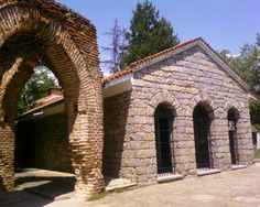 The Thracian Tomb in Kazanlak, Bulgaria.