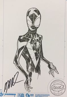 Ultimate Spider-Man(Miles Morales) by Humberto Ramos Spiderman Drawing, Spiderman Art, Amazing Spiderman, Comic Book Artists, Comic Artist, Comic Books Art, Marvel Comics Art, Marvel Heroes, Captain Marvel