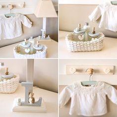 Regalos especiales para un bebé especial!!!#patricialarrosa #decoracioninfantil #babyroom #polymerclay #clay #twitter #decokids #babydecor #babyshower #regalonacimiento #baby