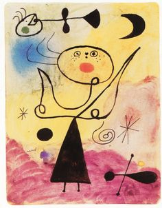 Successió Miro is an entity formed by the heirs to the estate of Joan Miró which administrates the rights of the artist's works. Pablo Picasso, Spanish Painters, Spanish Artists, Joan Miro Pinturas, Joan Miro Paintings, Kandinsky, Hieronymus Bosch, Ecole Art, Jackson Pollock