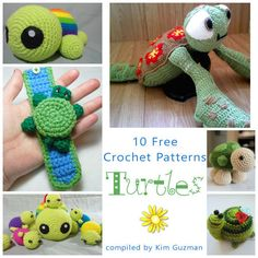 Make It Crochet Link Blast: 10 Free Crochet Patterns for Turtles