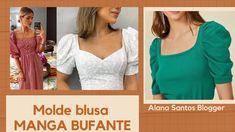 Sleeve Designs, Blouse Designs, Alana Santos, Moda Mango, Pakistani Dresses Casual, Bridal Dress Design, Altering Clothes, Crochet Blouse, Sewing Clothes