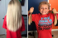 This 8-Year Old Boy Ignored Teasing And Continue To Grow His Hair For An Amazing Reason