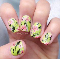 Nailpolis Museum of Nail Art   Tropical nails by Massiel Pena