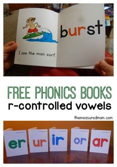 Free phonics books for r-controlled vowels