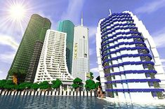 ... types of modern skyscrapers. The design is extraordinarily awesome