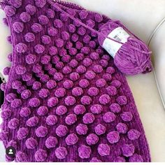 Pompon Baby Blanket Making – Knitting And We Hairpin Lace Crochet, Crochet Motif, Crochet Shawl, Crochet Baby, Crochet Edgings, Fluffy Blankets, Felt Quiet Books, Lace Earrings, How To Start Knitting