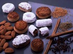Mantecados  de Estepa (Sevilla) Mantecaditos, Candied Fruit, Andalusia, Marzipan, Muffin, Spain, Sweets, Cookies, Chocolate