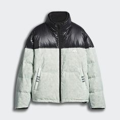 c2689ae402 adidas Originals by AW Disjoin Puffer Jacket Clear Mint   Black DT9504