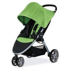 Britax 2017 B-Agile Stroller-Meadow, Meadow Best Double Pram, Double Prams, Best Double Stroller, Single Stroller, Cheap Strollers, Best Baby Strollers, Double Strollers, Britax Stroller, Jogging Stroller