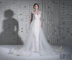 Chrystelle Atallah 2014 collection - Bridal - http://www.flip-zone.net/fashion/bridal/the-bride/chrystelle-atallah-4747