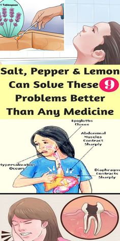 Salt, Pepper and Lemon Can Solve These 9 Problems Better Than Any Medicine!