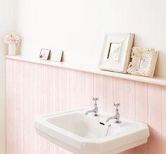 Tapete selbstklebend Dekofolie Möbelfolie Holz hell rosé