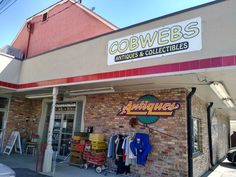Discover A Treasure Trove Of Novelties At Cobweb's Antiques Utah Vacation, Strip Mall, State Street, Vintage Typewriters, Old Quotes, Antique Stores, Salt Lake City, I Shop, The Neighbourhood