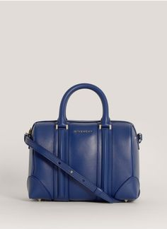 Givenchy - Lucrezia mini leather duffle   Blue and Green Day Shoulder Bags   Womenswear   Lane Crawford - Shop Designer Brands Online