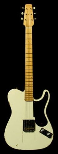 1949 Fender Broadcaster - This guitar was Leo Fender's first prototype for the most popular guitar ever made - the Fender Telecaster.