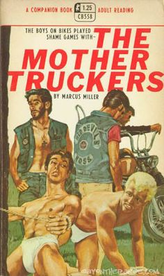 The Mother Truckers What a title (trash pure trash) Pulp Fiction Art 32ec9d9f151