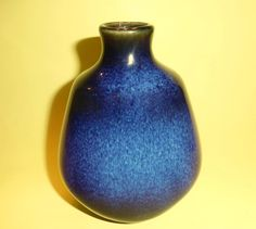 JAPANESE FLAMBE VASE Blue and Black Drip Glaze Japan Early 20th Century Stamped Heavyweight  日本フラメンバス Jaro Flambe Japones Art Vintage Japanese, Glaze, Pottery, Stamp, This Or That Questions, Etsy, Color, Beautiful, Art
