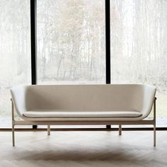 Tailor Lounge Sofa by Rui Alves in Oak with Fabric or Leather Seat, Quickship | From a unique collection of antique and modern sofas at https://www.1stdibs.com/furniture/seating/sofas/ #modernsofa