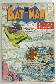 BATMAN #132 Great Silver Age find from DC Comics! http://r.ebay.com/B4MEeO