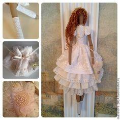 "Muñecas tildas de Lyudmila ""Doll Country"" C/L"