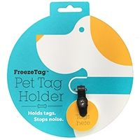 Holds Tags. Stops Noise. Enjoy silence for you and your dog. No more tag jingle with the Freeze Tag. The FreezeTag works with your dog id tags, pet id tags, keeping them silent and secure. Simple to Swap Collars. Easy to Change Tags. Split-rings are a thing of past. Give your dog's collar the modern upgrade it deserves with the FreezeTag pet tag holder. Split-rings become loose and fall off, leaving your dog at risk of not coming home. With the FreezeTag, it's easy to add new tags, and it's…