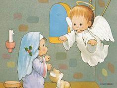 El Angel le anuncia a Maria