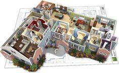 Planos Casas Modernas   Planos y casas